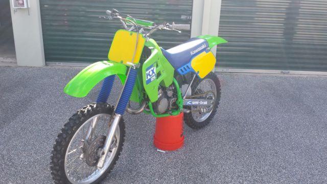1988 Kawasaki KX125 KX 125 Restored Vintage Motocross Dirt Bike MX