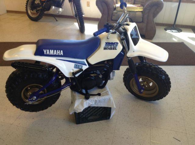 1988 Yamaha Bw80 Bw Bigwheel 80cc Kids Motorcycle Vintage