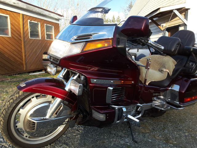 1989 honda goldwing gl1500 aspencade