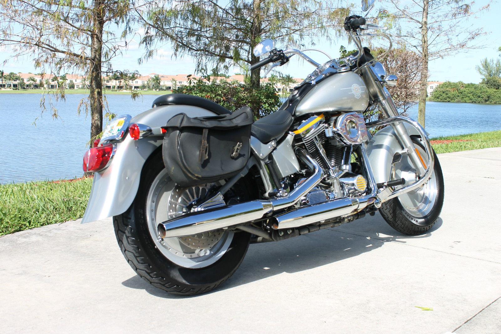 1990 Harley Davidson Fatboy Grey Ghost