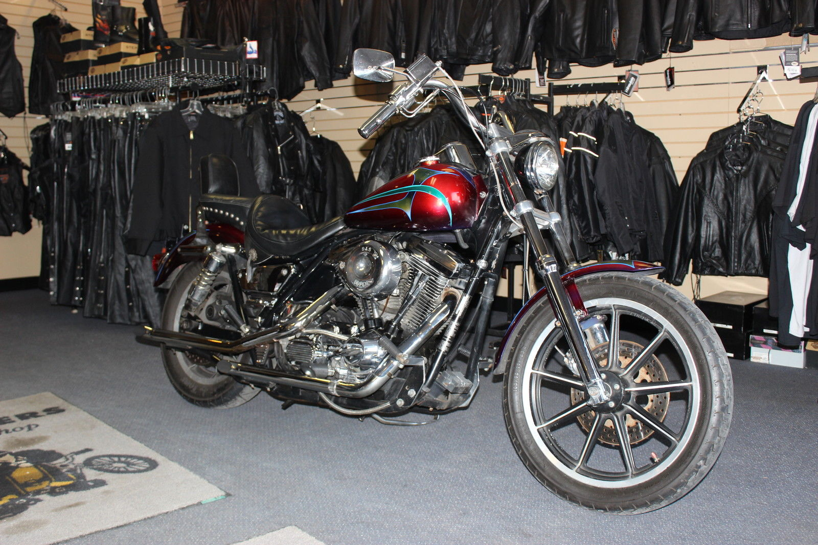 1990 Harley Davidson FXR Ron Finch Custom Paint Chopper Bobber