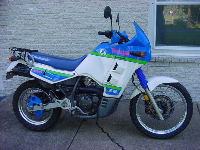 1990 Kawasaki Klr650 Tengai Paris Dakar Style Limited Edition Dual Sport