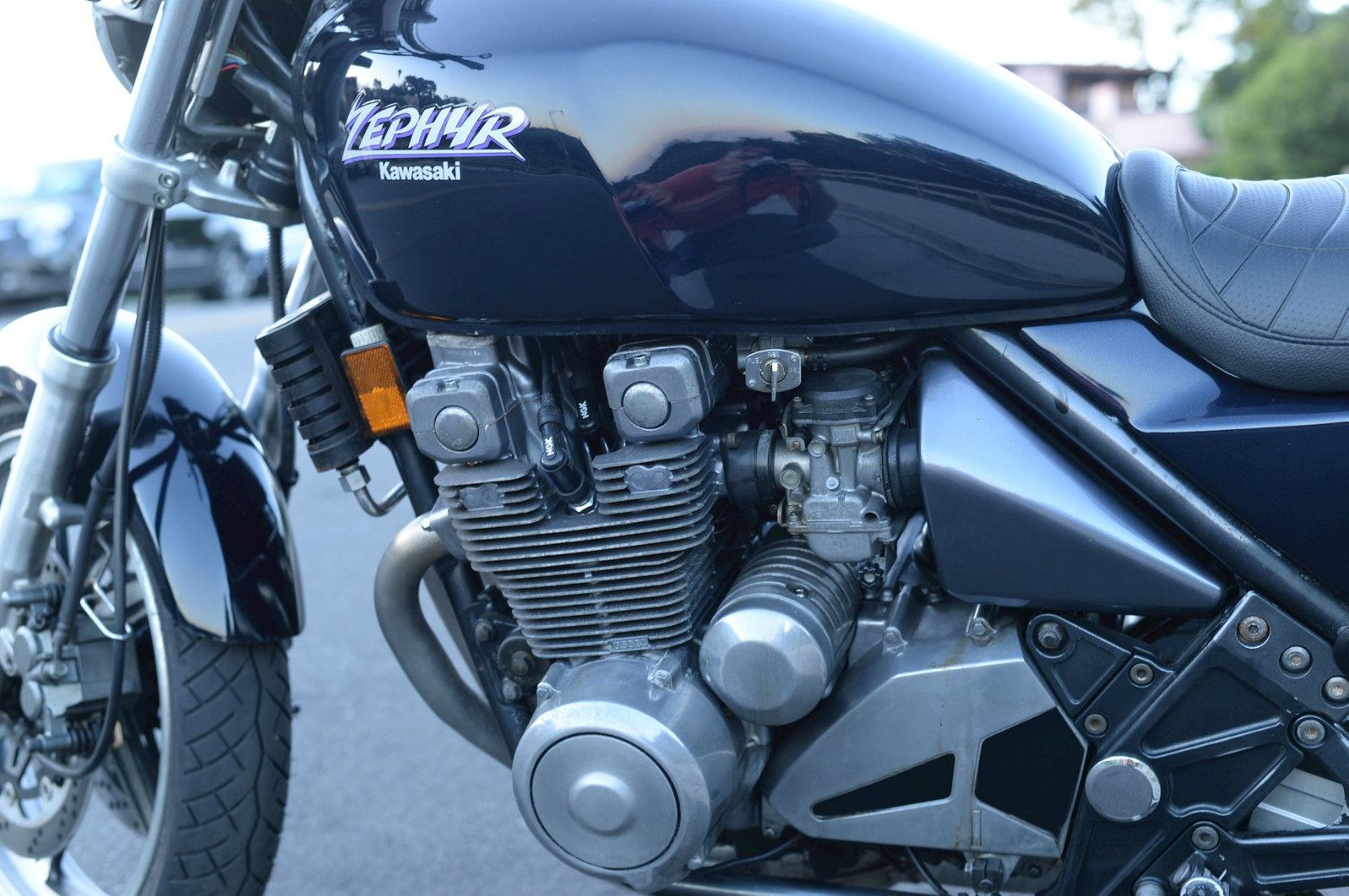 1990 Kawasaki Zephyr 550 - YouTube