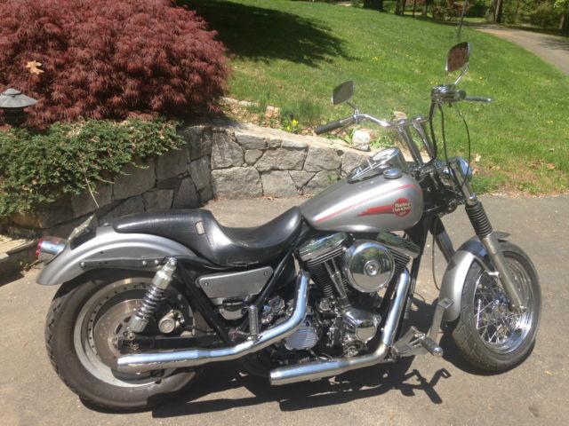 1991 Harley Davidson H-D HD FXRS Buell Design Frame Evo