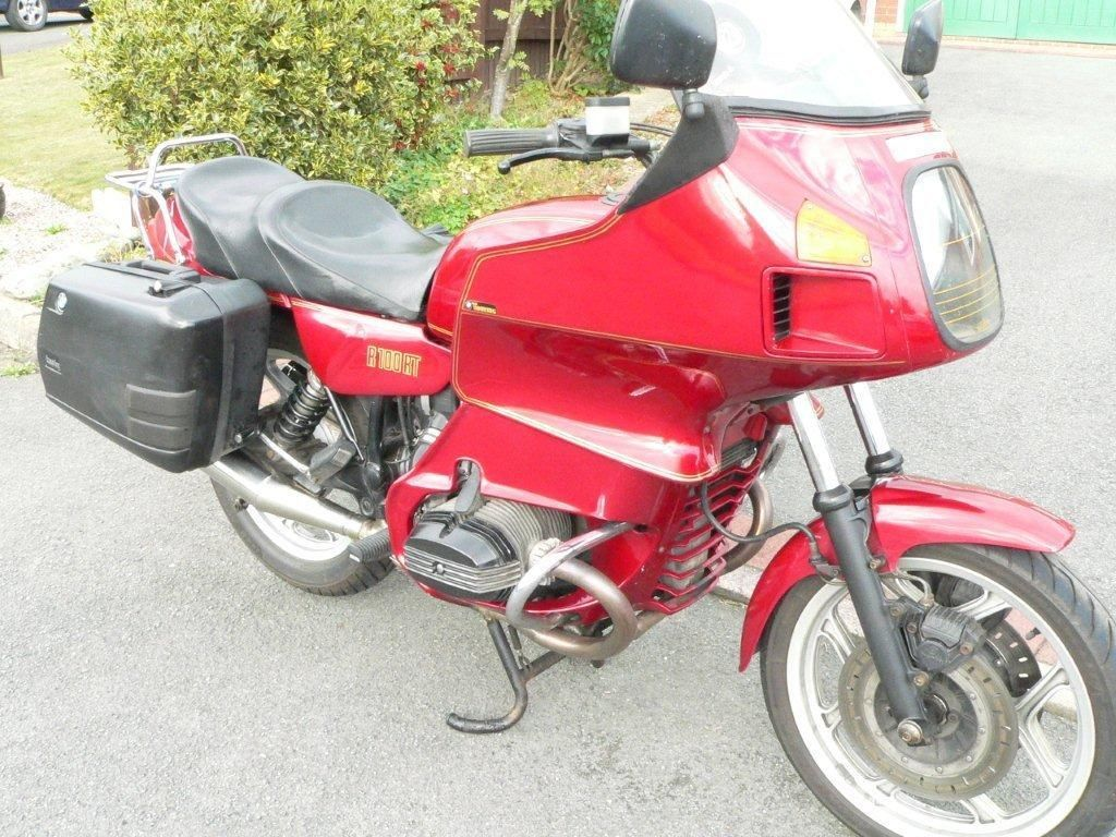 1993 BMW R100RT RED/BLACK