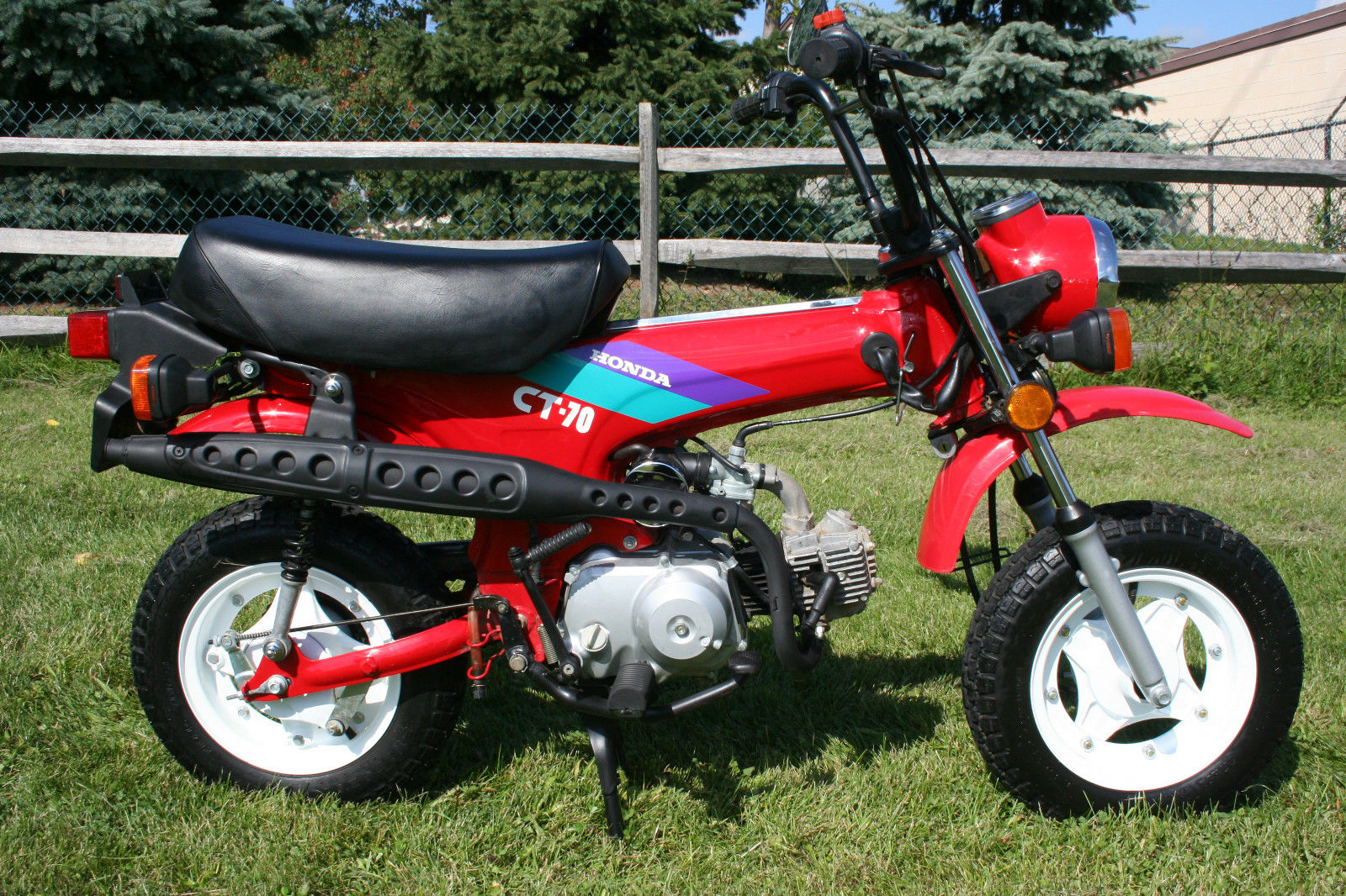 1993 honda ct70 in excellent condition with very very low for Honda in ct