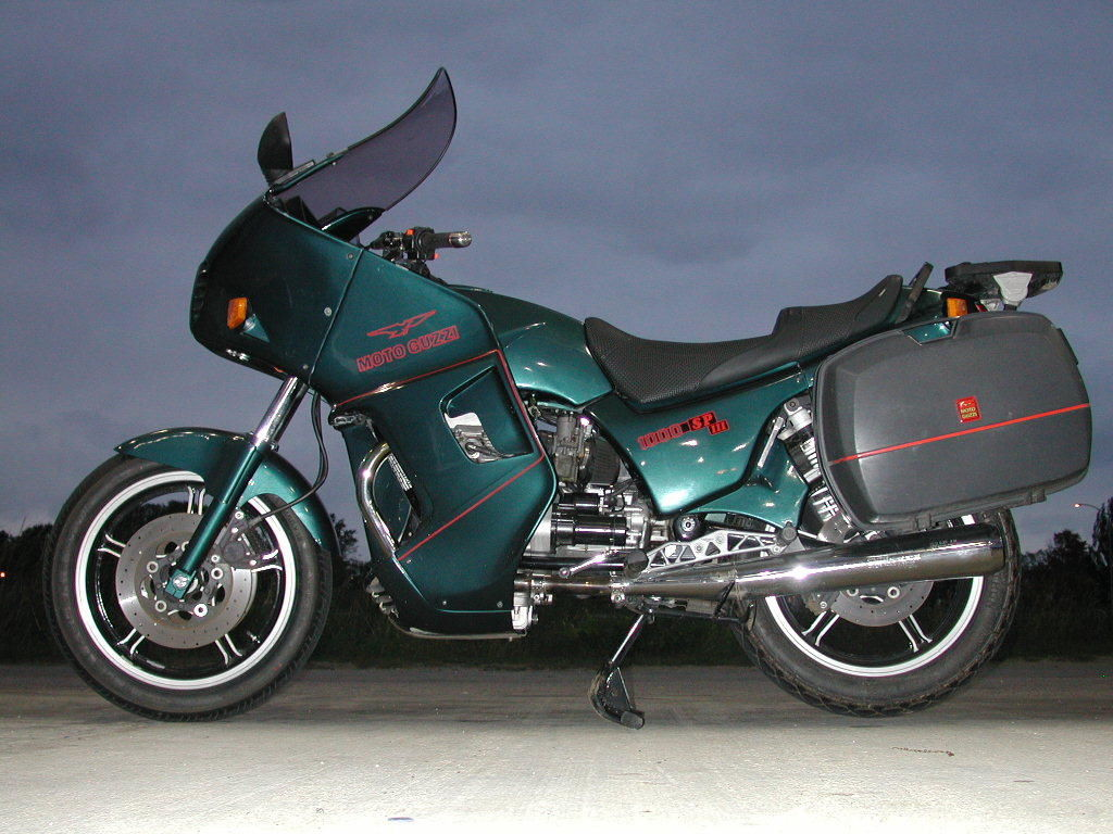 1993 moto guzzi 1000 sp3 touring with side and top cases very good condition. Black Bedroom Furniture Sets. Home Design Ideas