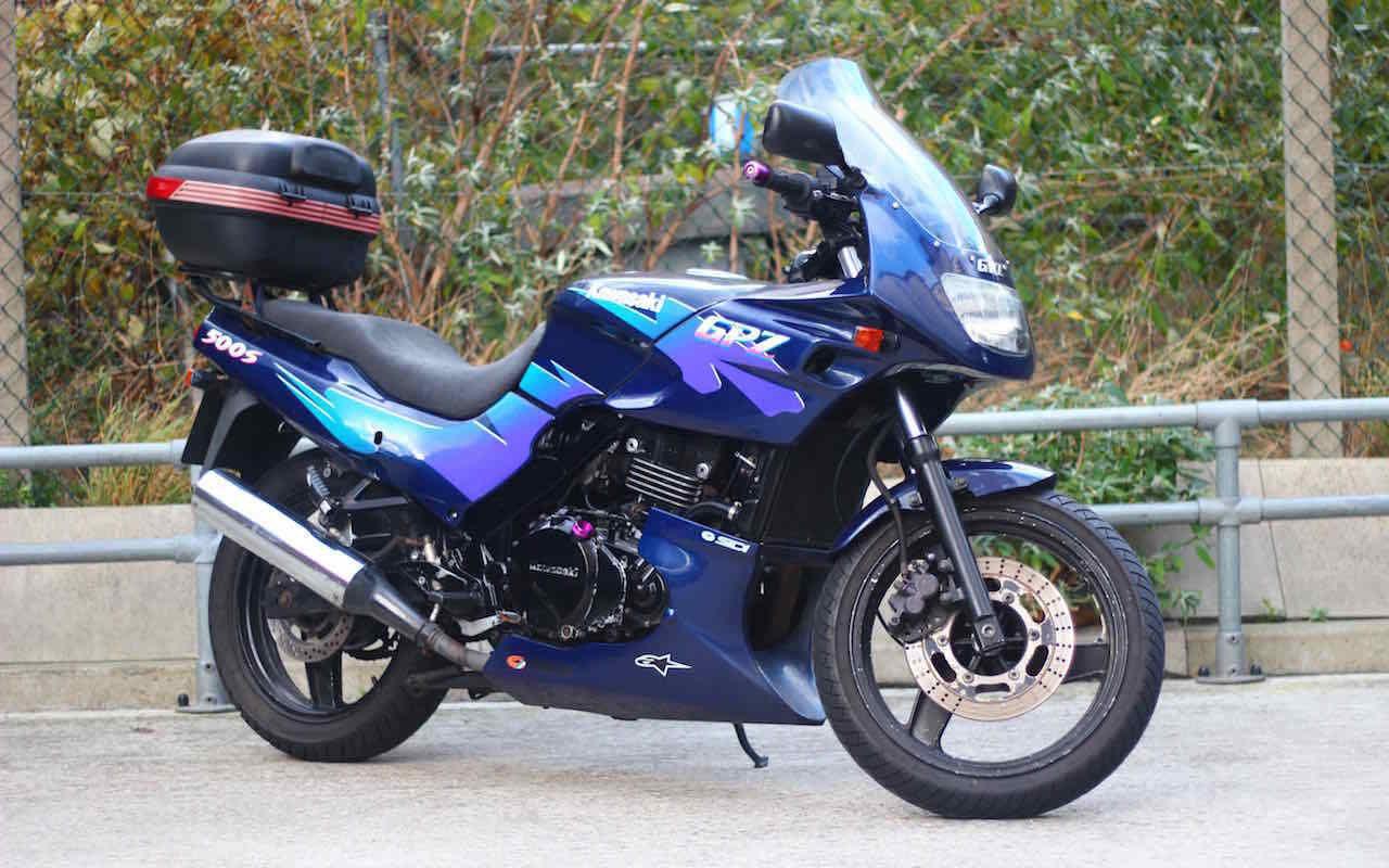 Gebrauchte Kawasaki GPZ 500 S , Erstzulassung: 1999, 11071