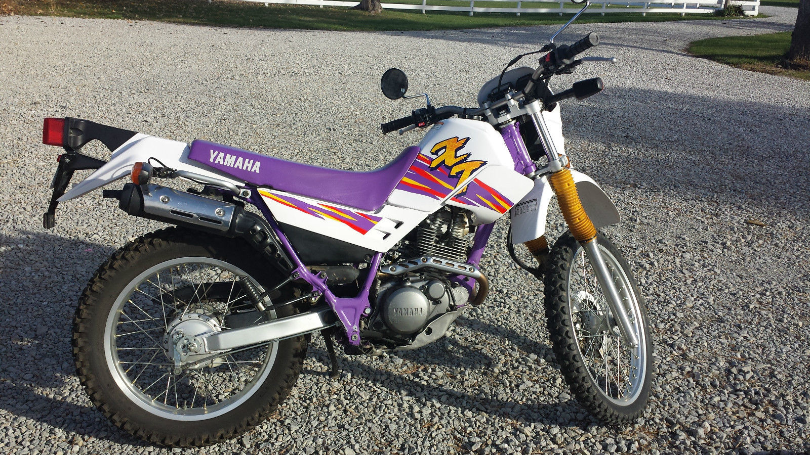 1995 yamaha xt 225 dual sport enduro for Yamaha dual sports