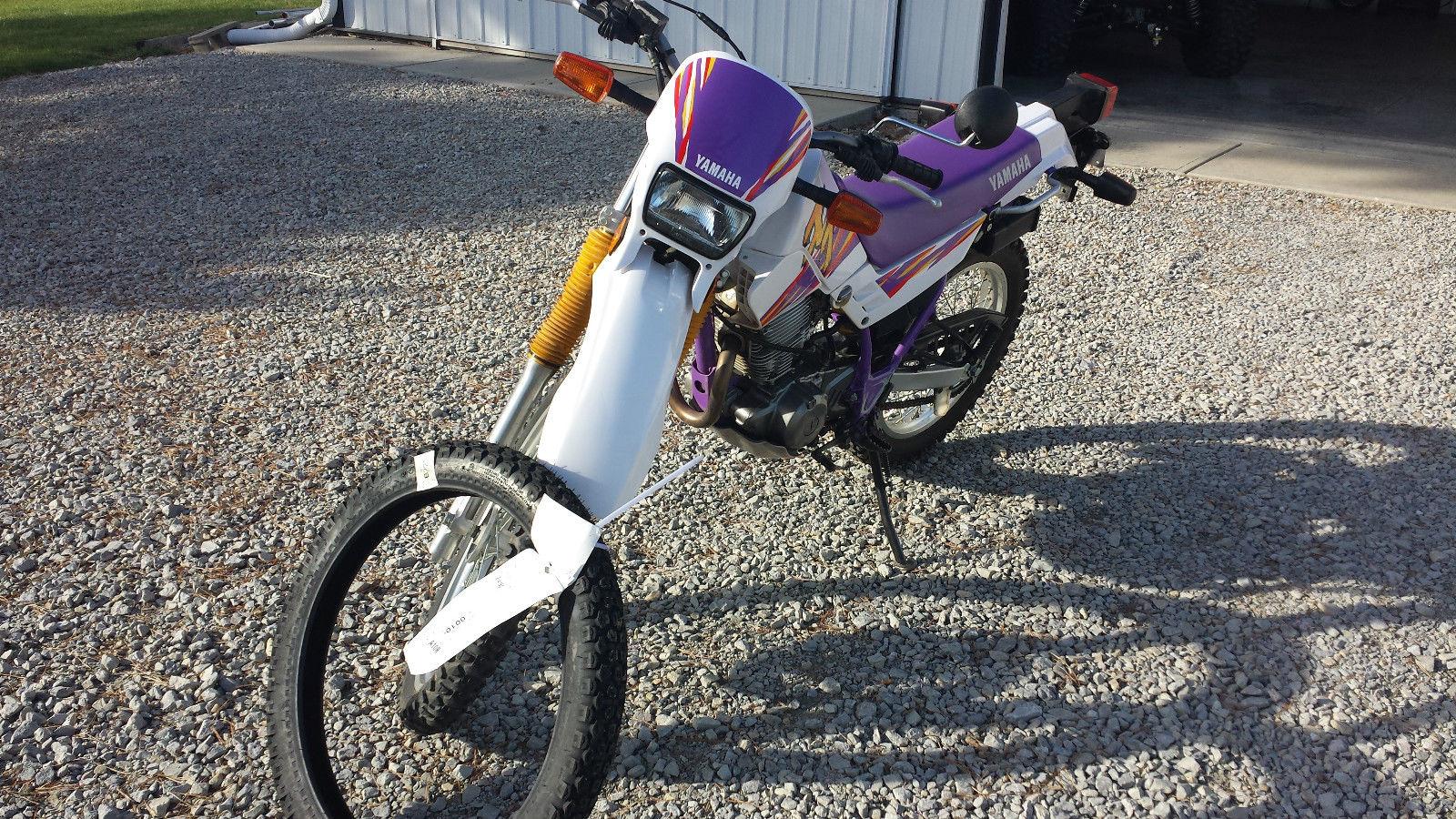 Used Yamaha Xt Dual Sport