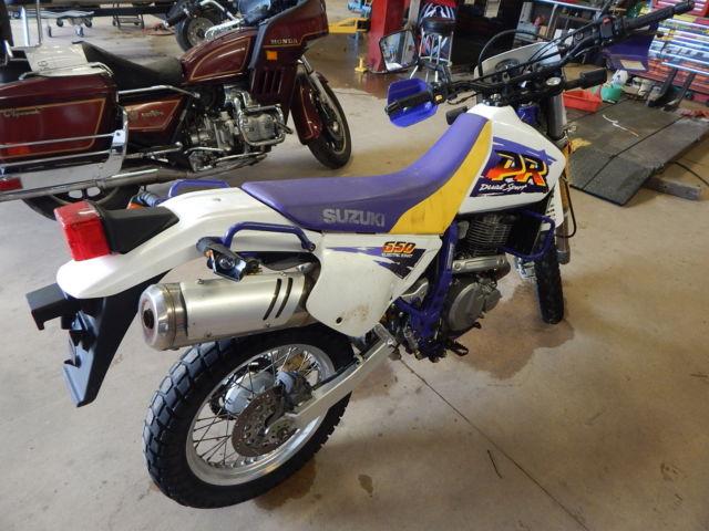 Suzuki dual sport 650