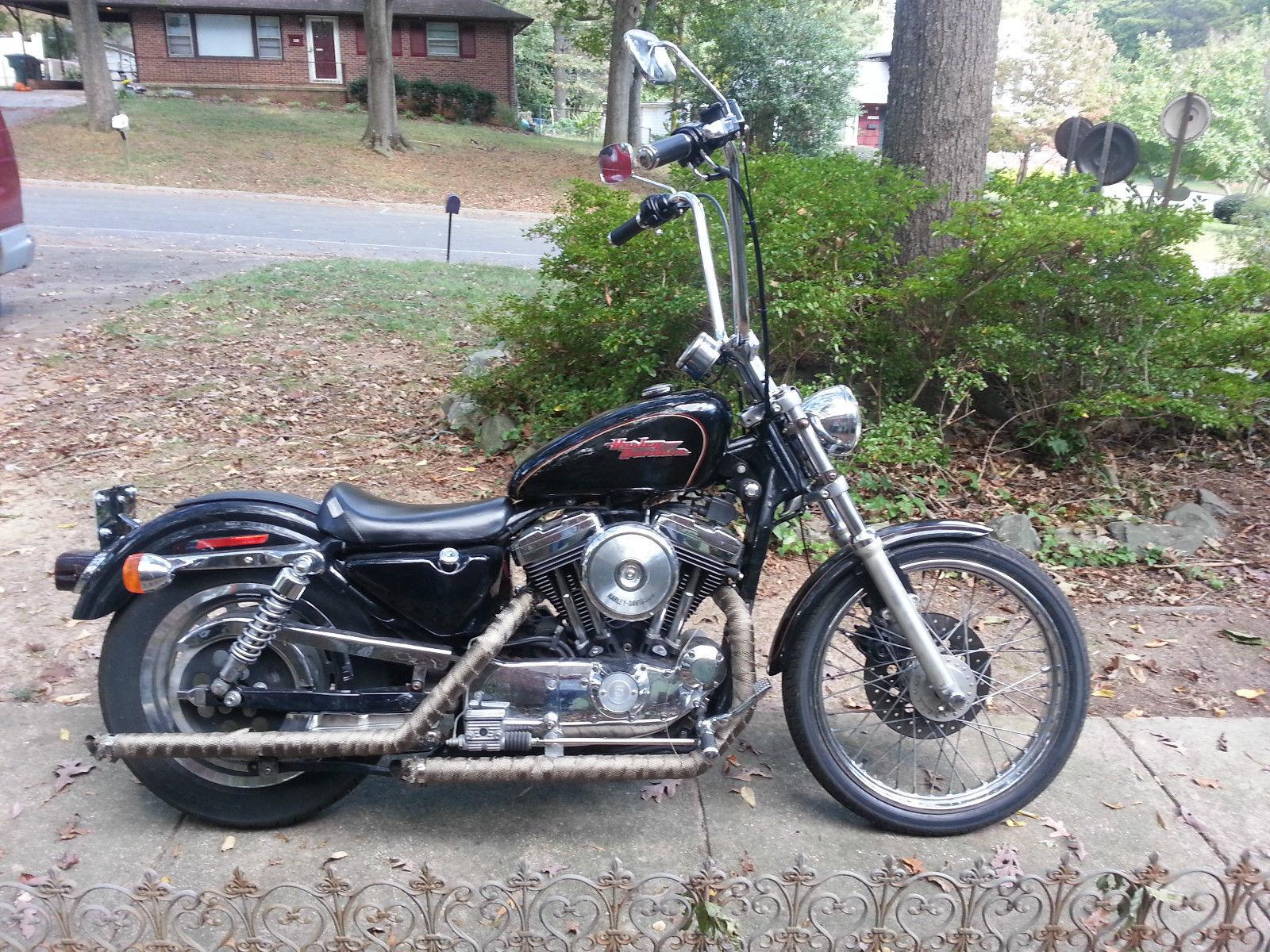 1998 1200 Harley Davidson Sportster 16 Ape Hangers Custom Wiring Harness 98
