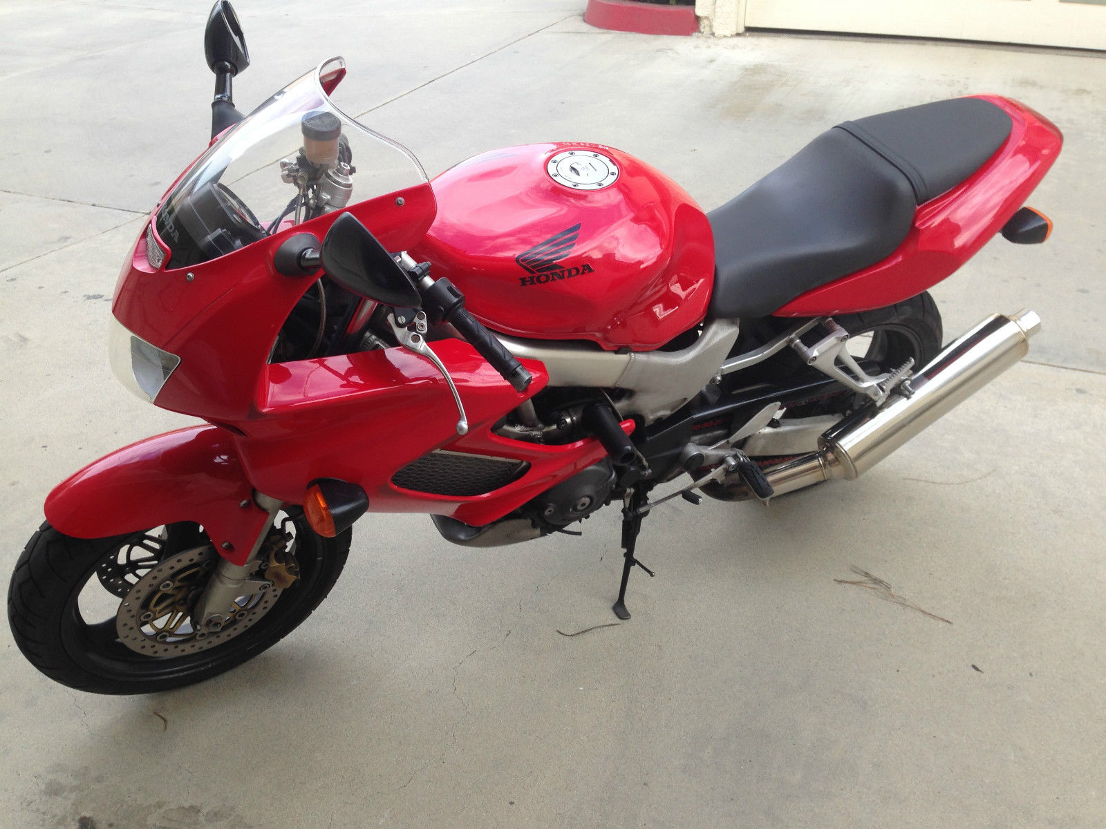 1998 Honda Vtr1000 Superhawk V Twin Sportbike Very Clean