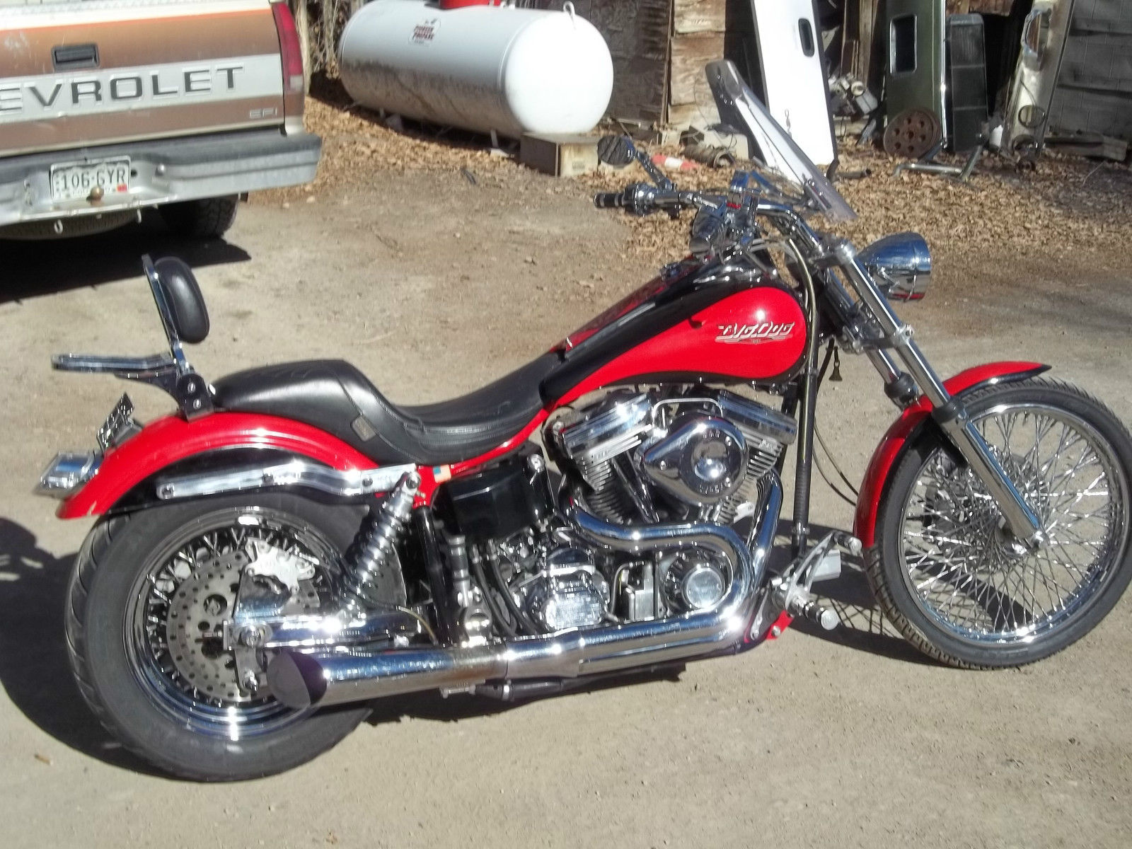 1999 big dog prosport motorcycle 107ci first of 39 99 with 107. Black Bedroom Furniture Sets. Home Design Ideas