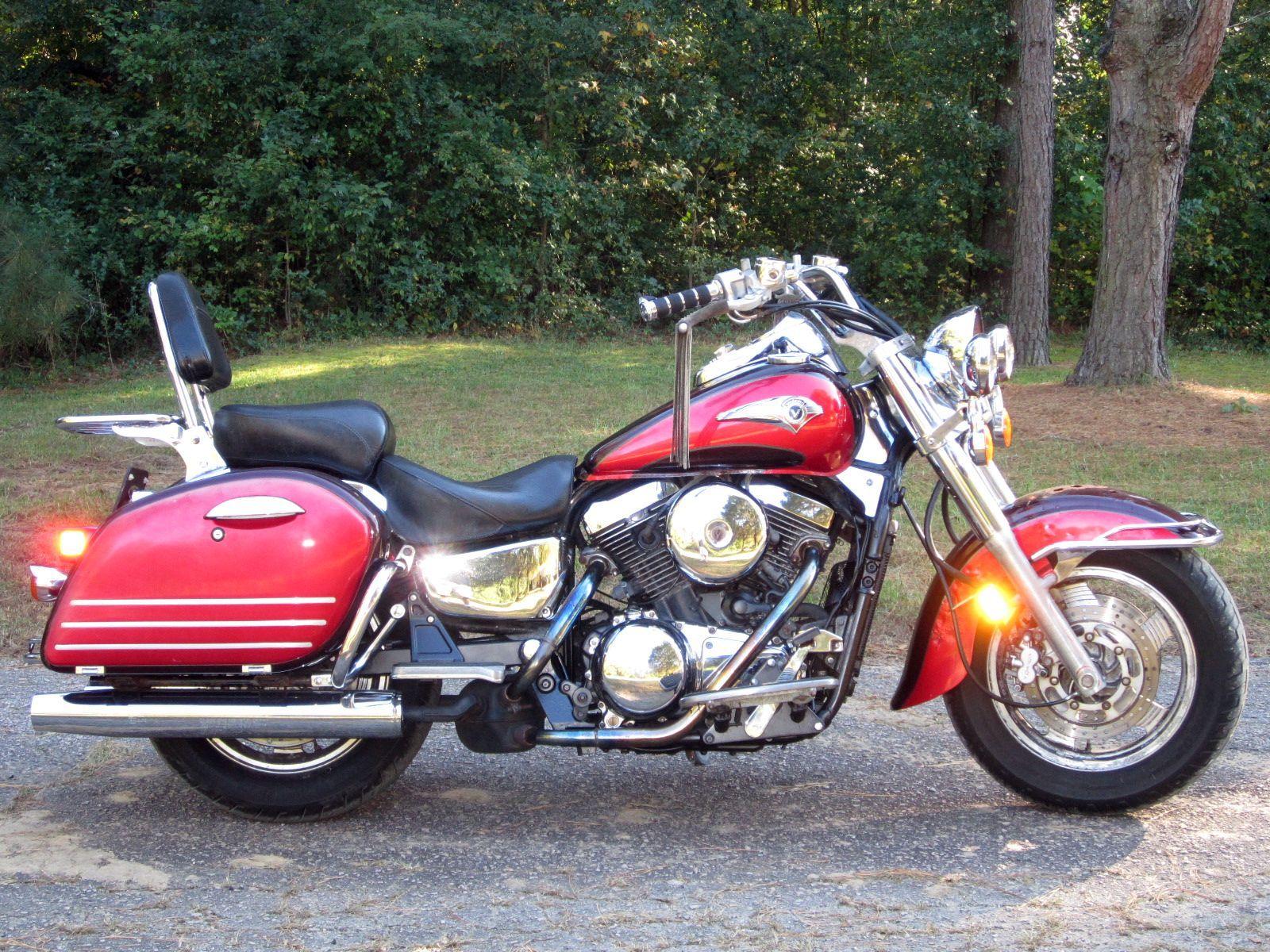 1999 Kawasaki Nomad 1500 Vulcan No Reserve Touring Cruiser Drifter Harley Honda