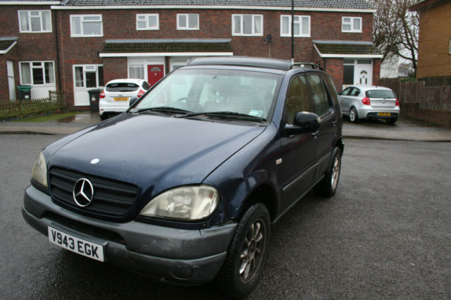 1999 Mercedes ML320 7 Seater Automatic *** PROJECT 4X4 NEEDS TLC *** FOR  SPARES