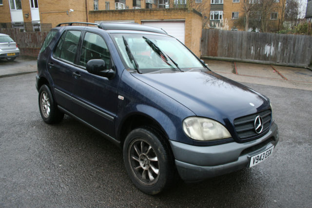 1999 mercedes ml320 7 seater automatic project 4x4. Black Bedroom Furniture Sets. Home Design Ideas