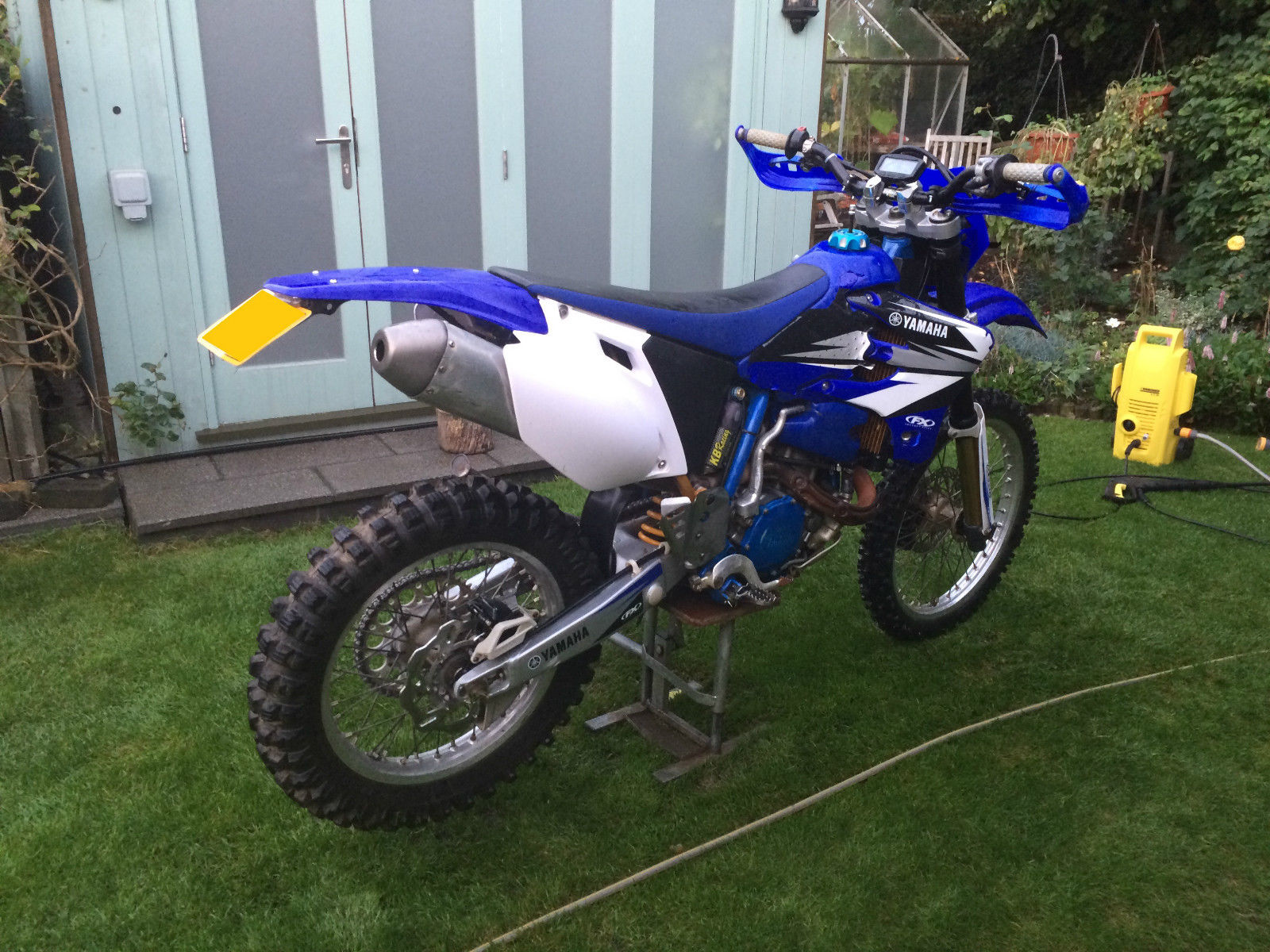 1999 yamaha wr400 f enduro green lane motorcycle. Black Bedroom Furniture Sets. Home Design Ideas