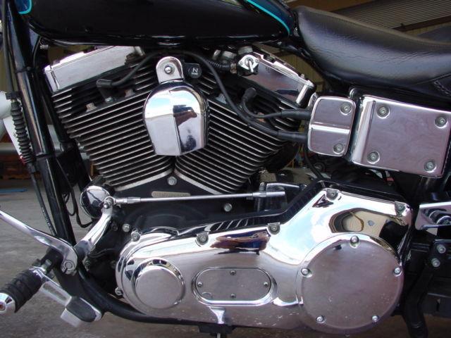 2000 Harley Davidson Dyna Gorgeous Bike Harley Bags Mustang