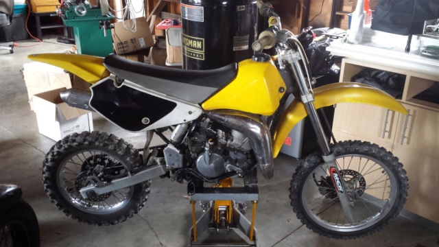 2000 Suzuki Rm80 80cc Dirt Bike W Fmf Gold Series Pipe