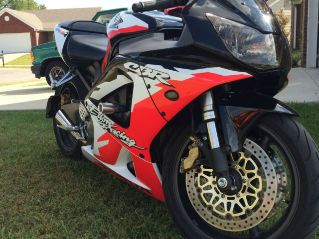 2001 Honda CBR929RE Erion Racing Edition 929RR Well Maintained
