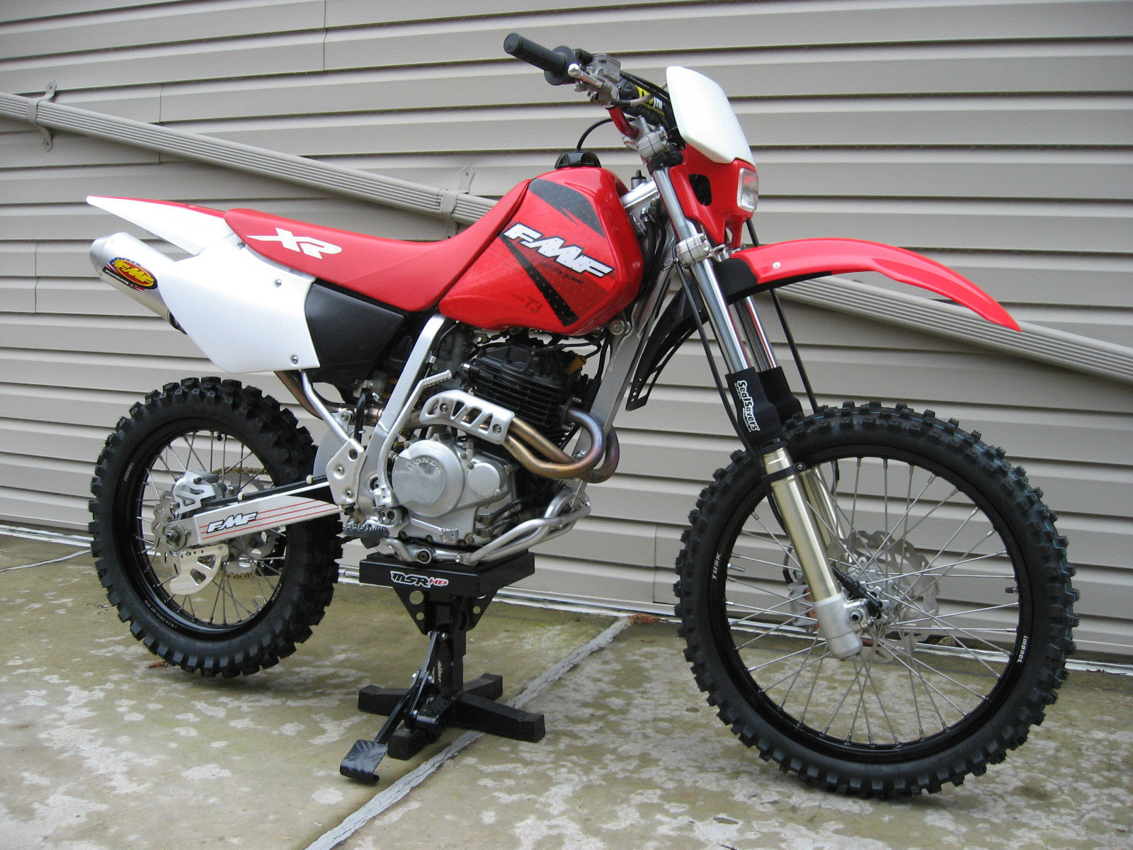 2001 honda xr250r mint completely restored hipo mods. Black Bedroom Furniture Sets. Home Design Ideas