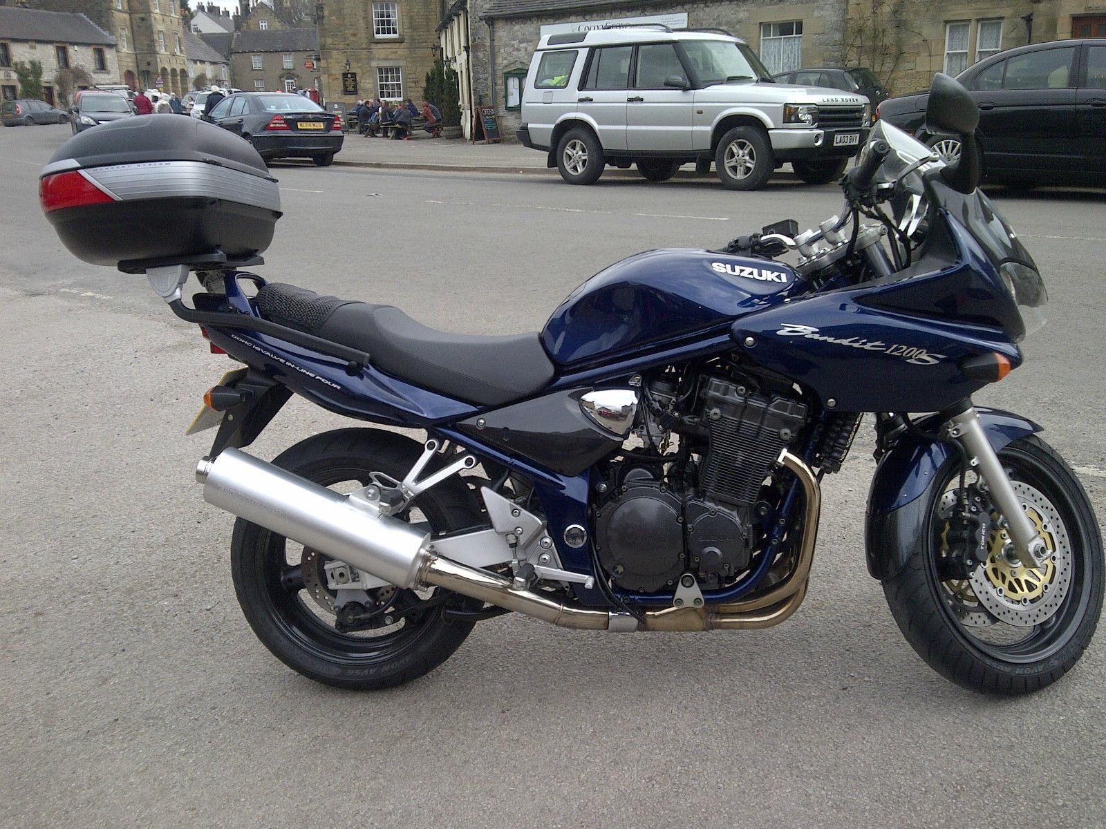 2001 Suzuki Gsf 1200 Sk1 Blue