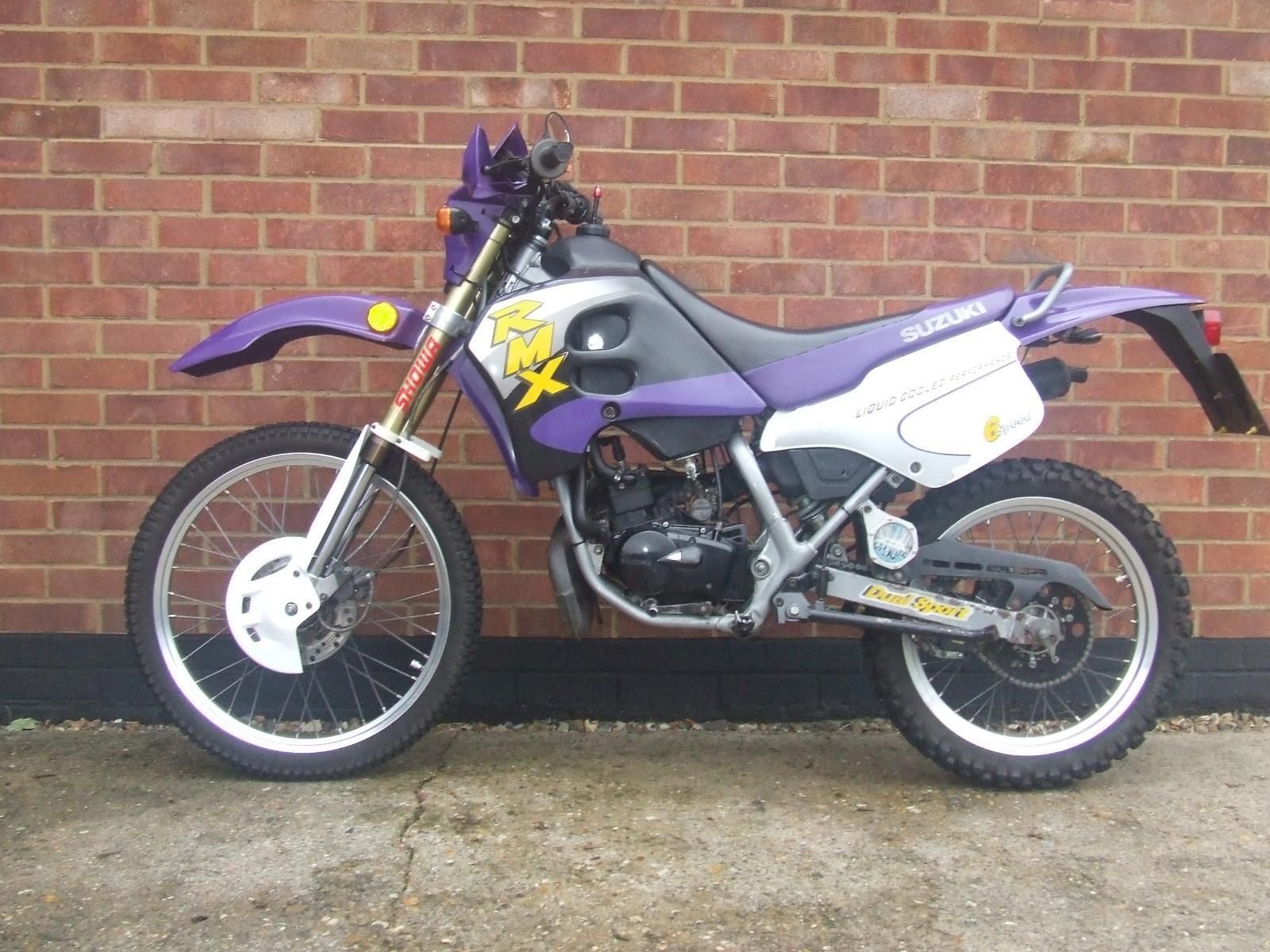 2001 x suzuki rmx 50 50cc moto cross purple. Black Bedroom Furniture Sets. Home Design Ideas