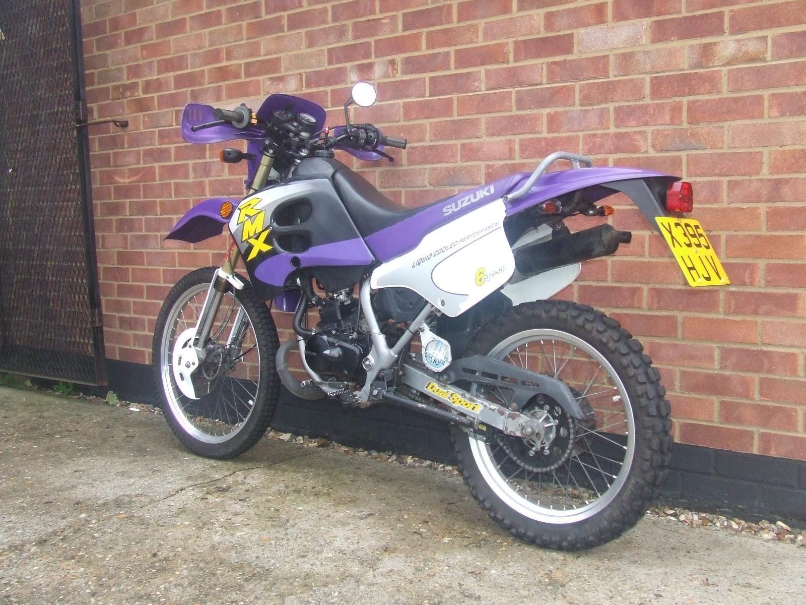 2001 x suzuki rmx 50 50cc moto cross purple. Black Bedroom Furniture Sets. Home Design Ideas