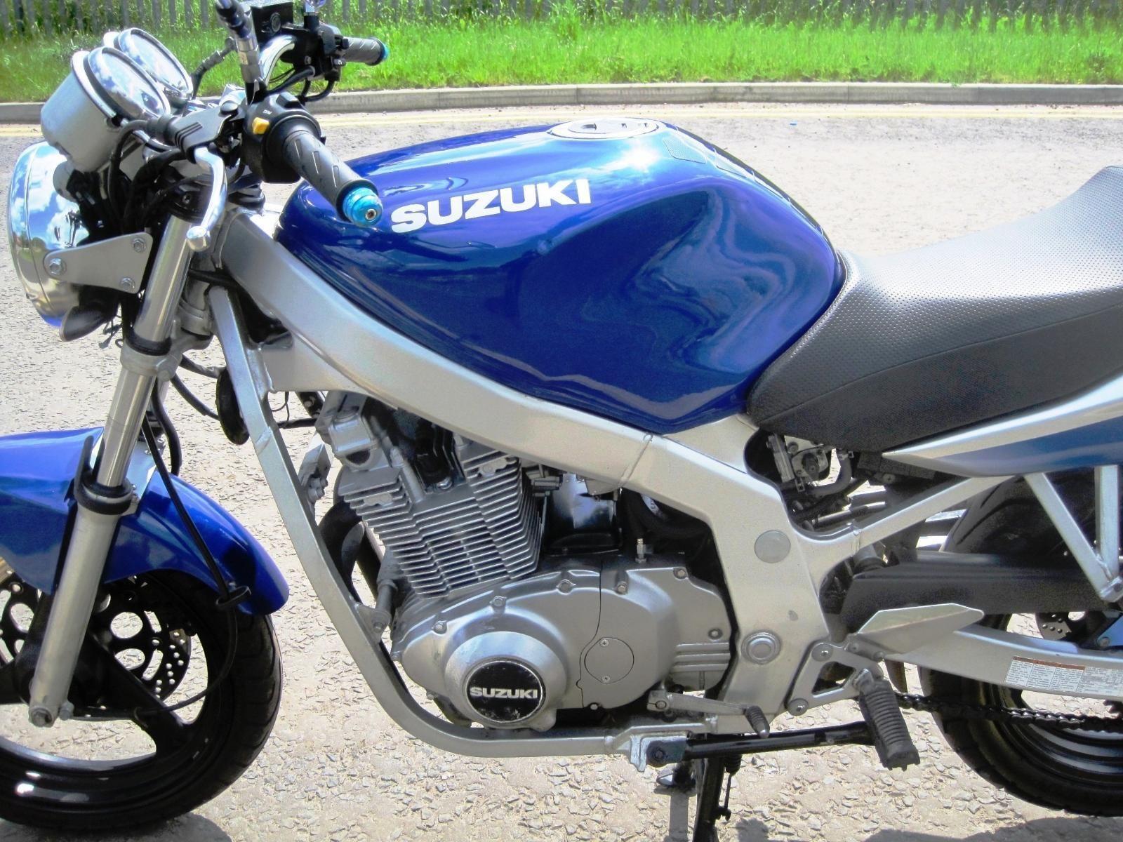 2002 (02) Suzuki GS500 K2 500cc Naked Blue