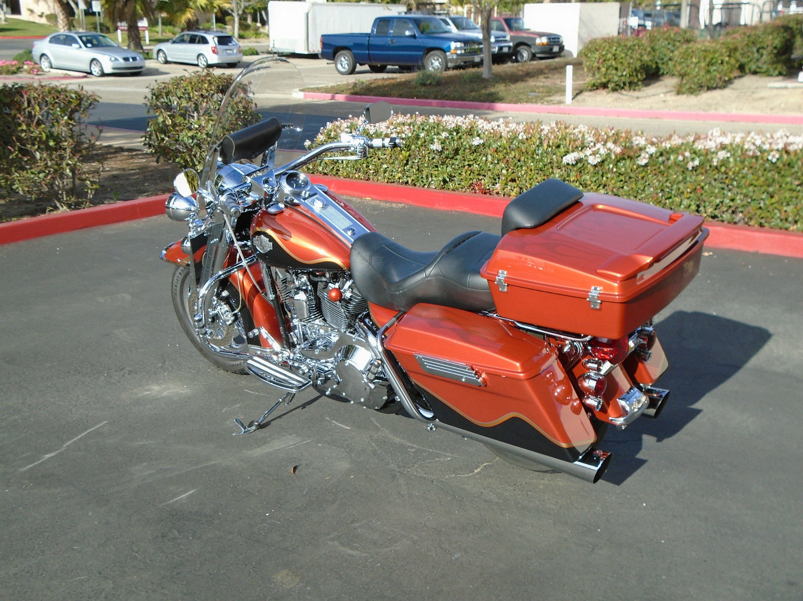2002 Custom Painted Road King With Tour Pack Chromed Out 95 Cu In 2015 Harley Davidson Motor