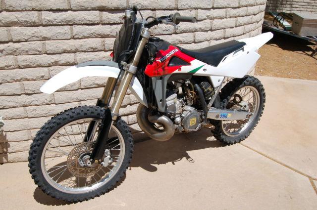 2002 Husqvarna CR250 CR 250 2 stroke motocross mx Husky