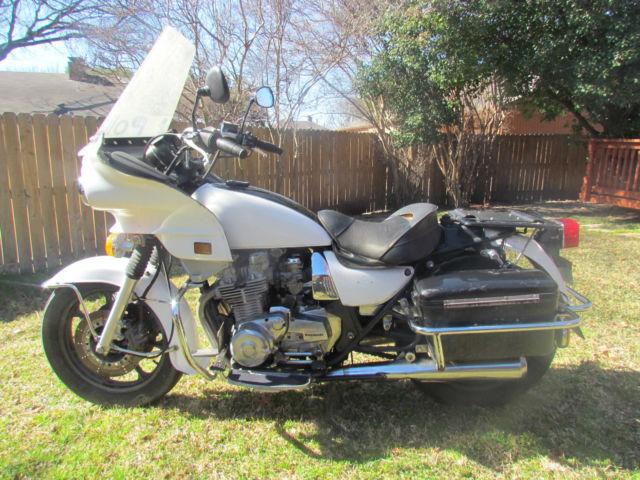2002 Kawasaki KZ1000 Police Motorcycle