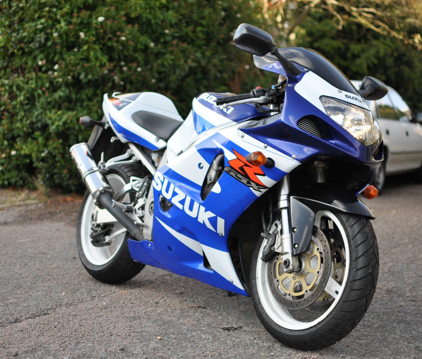 2002 Suzuki GSX-R750 K1, very clean GSXR 750, low mileage