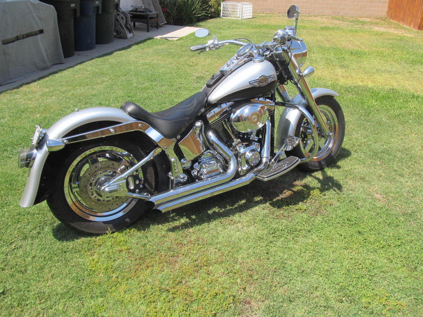 Year Anniversary Harley Davidson Fatboy