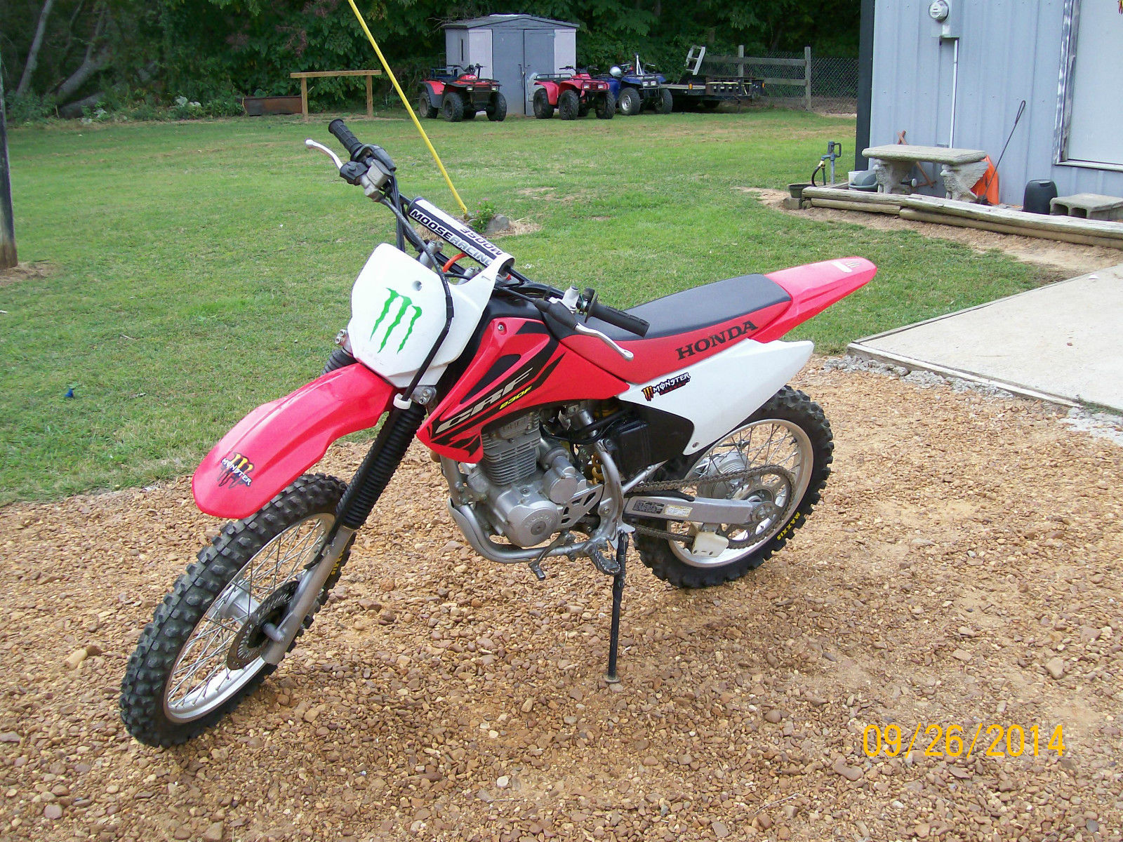crf230f fork oil change