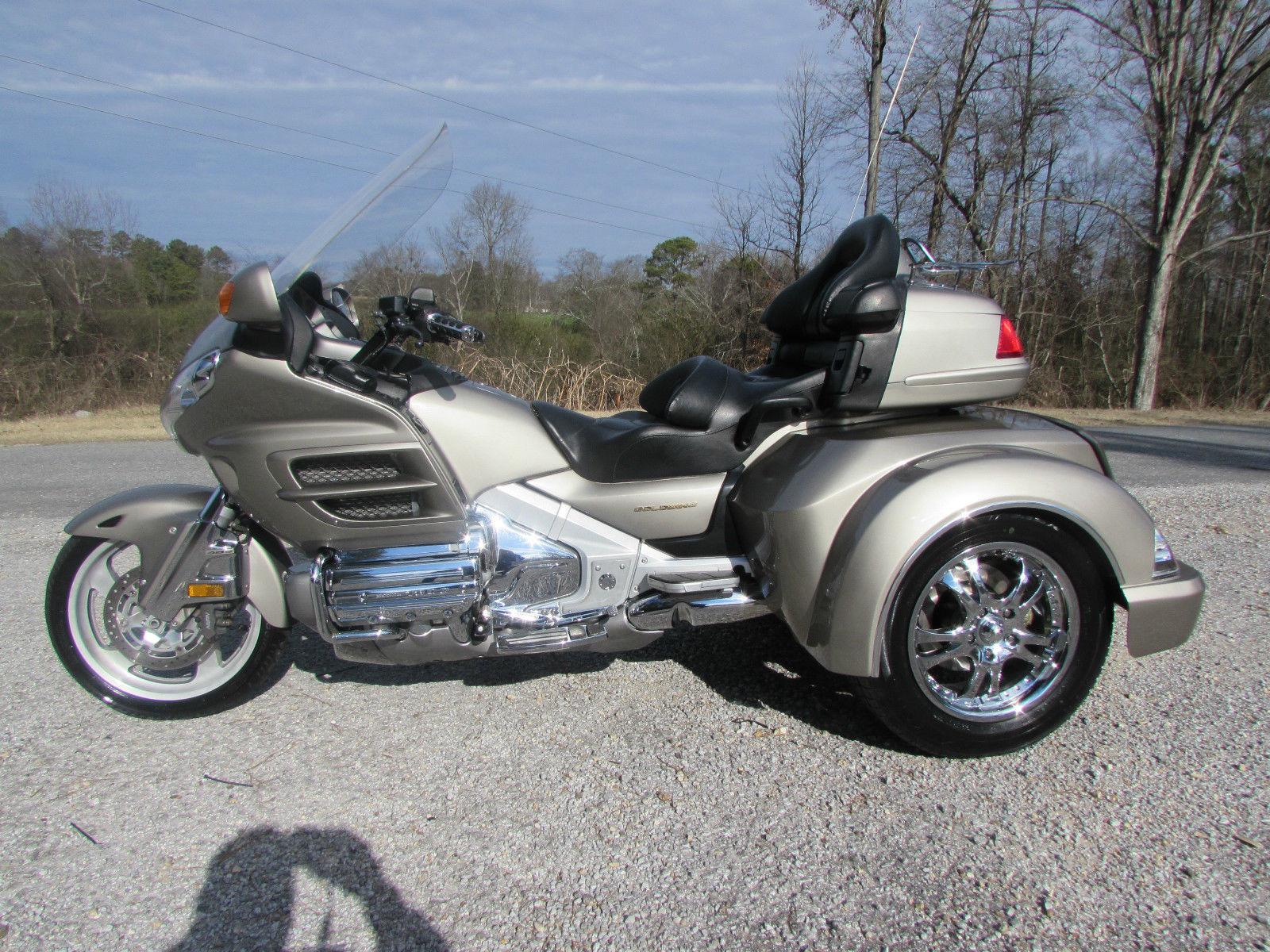 2003 Honda Goldwing Gl1800 New Roadsmith Hts1800 Trike