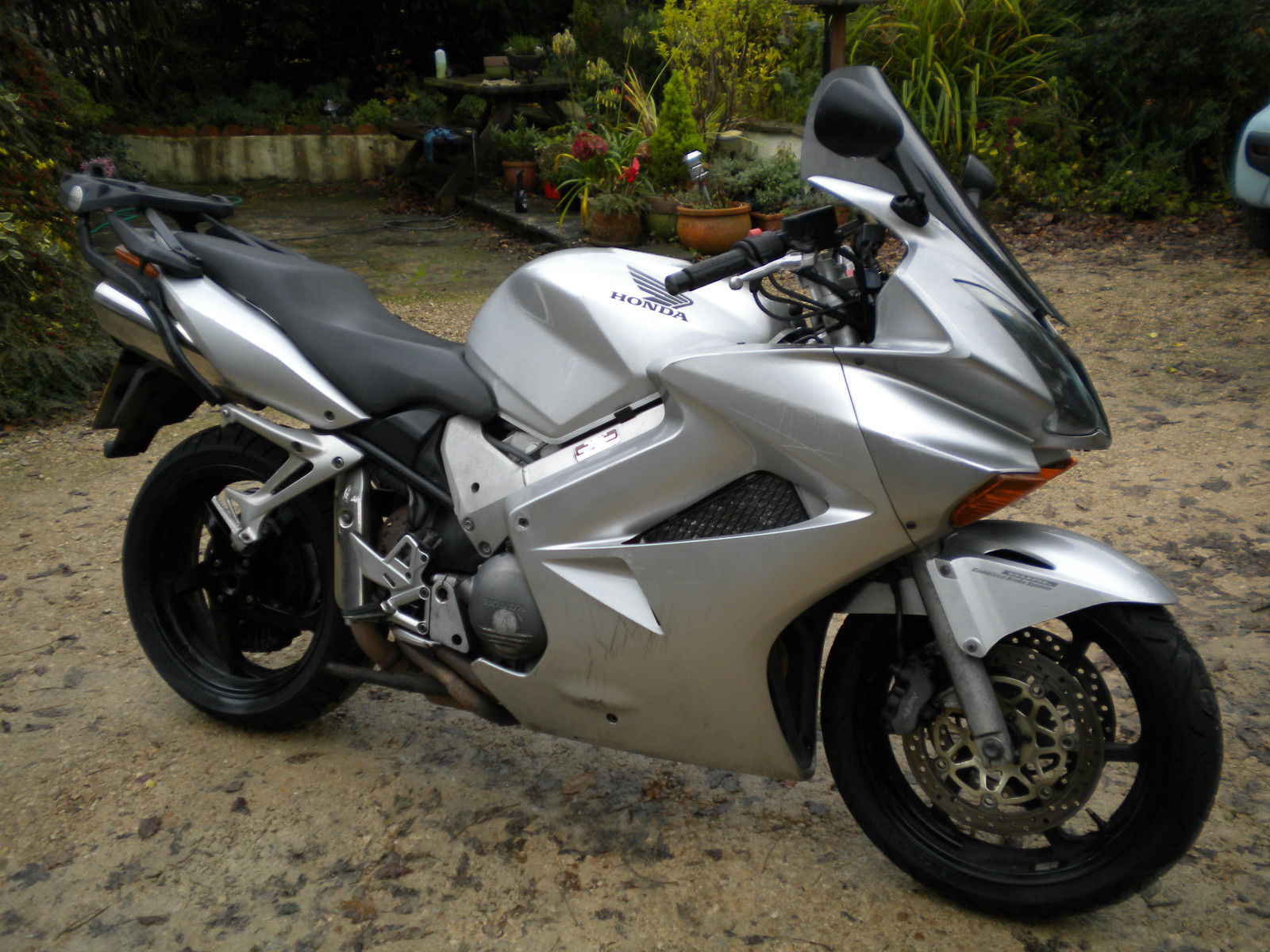 2003 honda vfr 800 3 silver. Black Bedroom Furniture Sets. Home Design Ideas