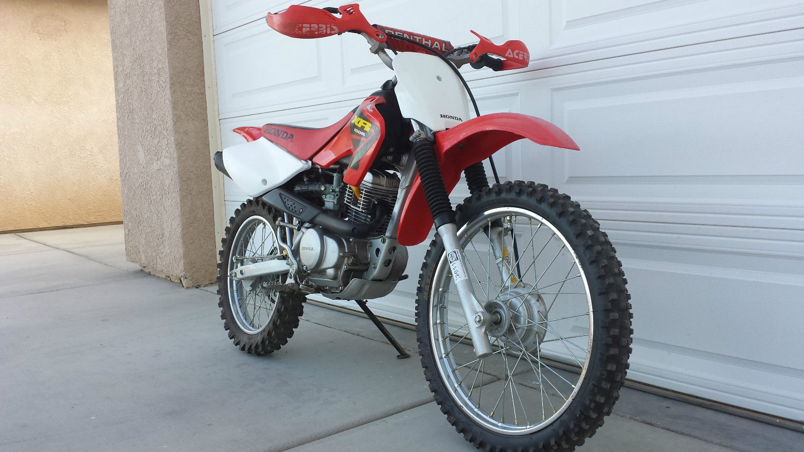 2003 Honda Xr100r Dirt Bike Just Rebuilt Engine With New Top End Runs Like New