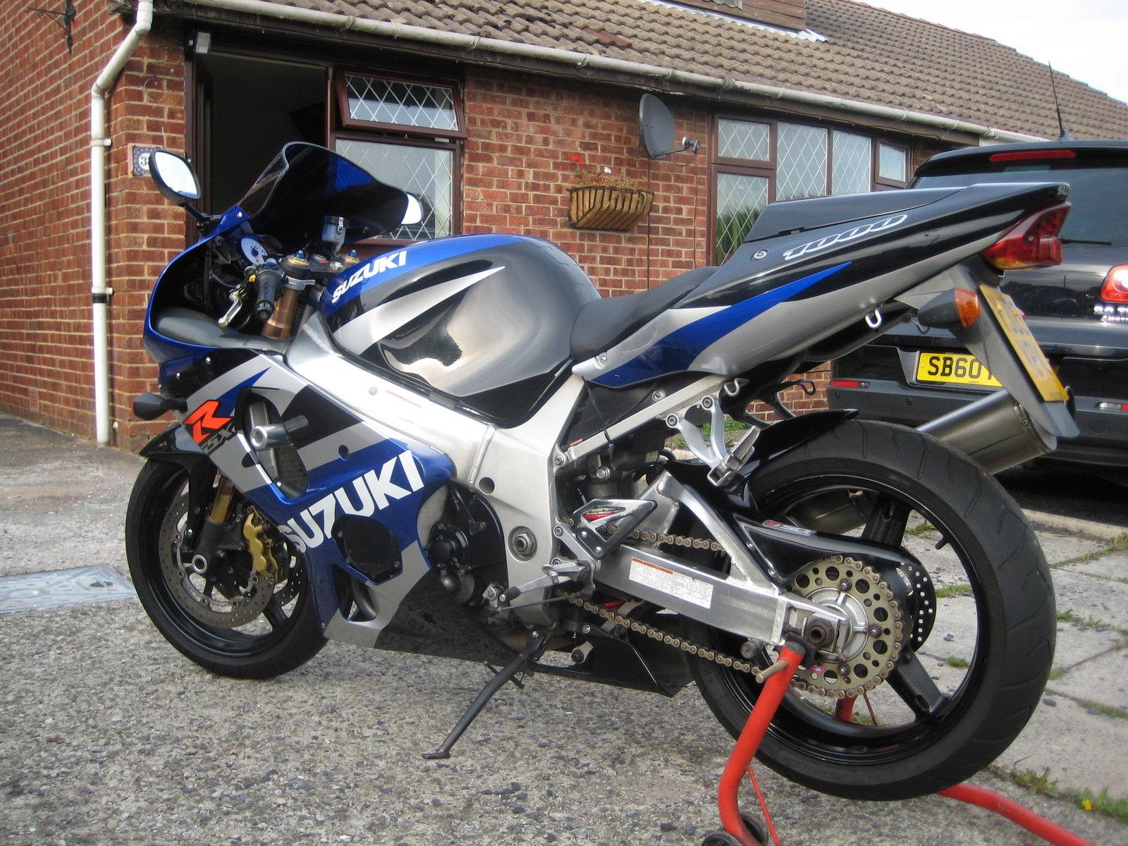 2003 Suzuki Gsx Black