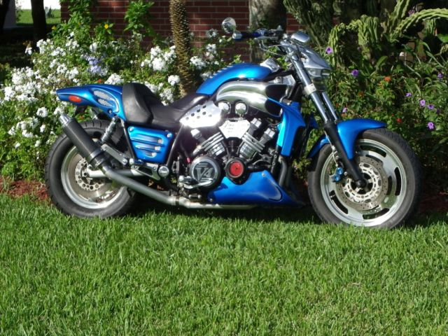 2003 Yamaha V Max 1200 Custom Streetfighter