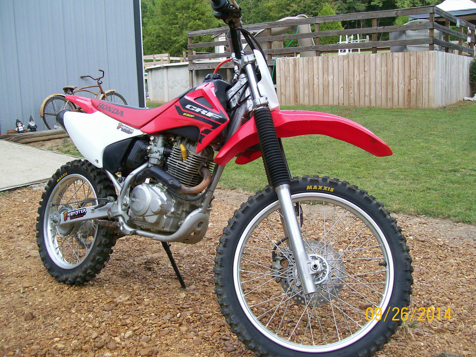 2004 HONDA CRF230F Dirt Bike