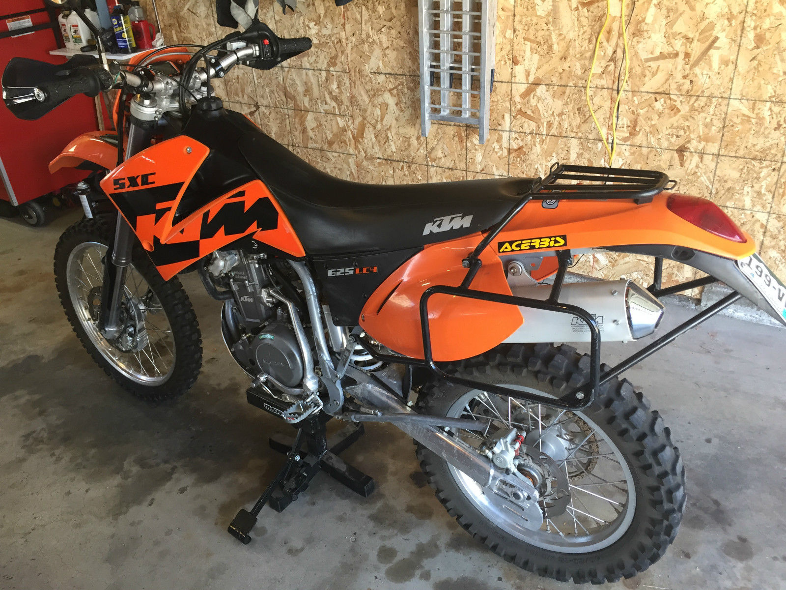 Ktm Dual Sport >> 2004 Ktm 625 Sxc Lc4 Street Legal Dual Sport Great Condition Many Extras
