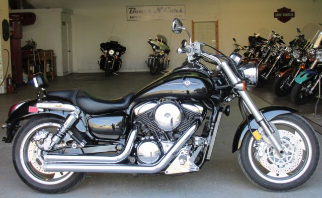 2004 Vulcan 1600 Mean Streak Low Miles Custom Chrome Performance