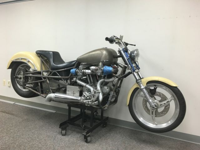 2005 Custom Drag Bike Project