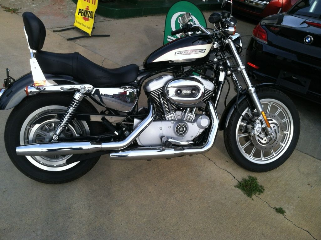 2005 Harley 1200 Roadster with only 515 Miles
