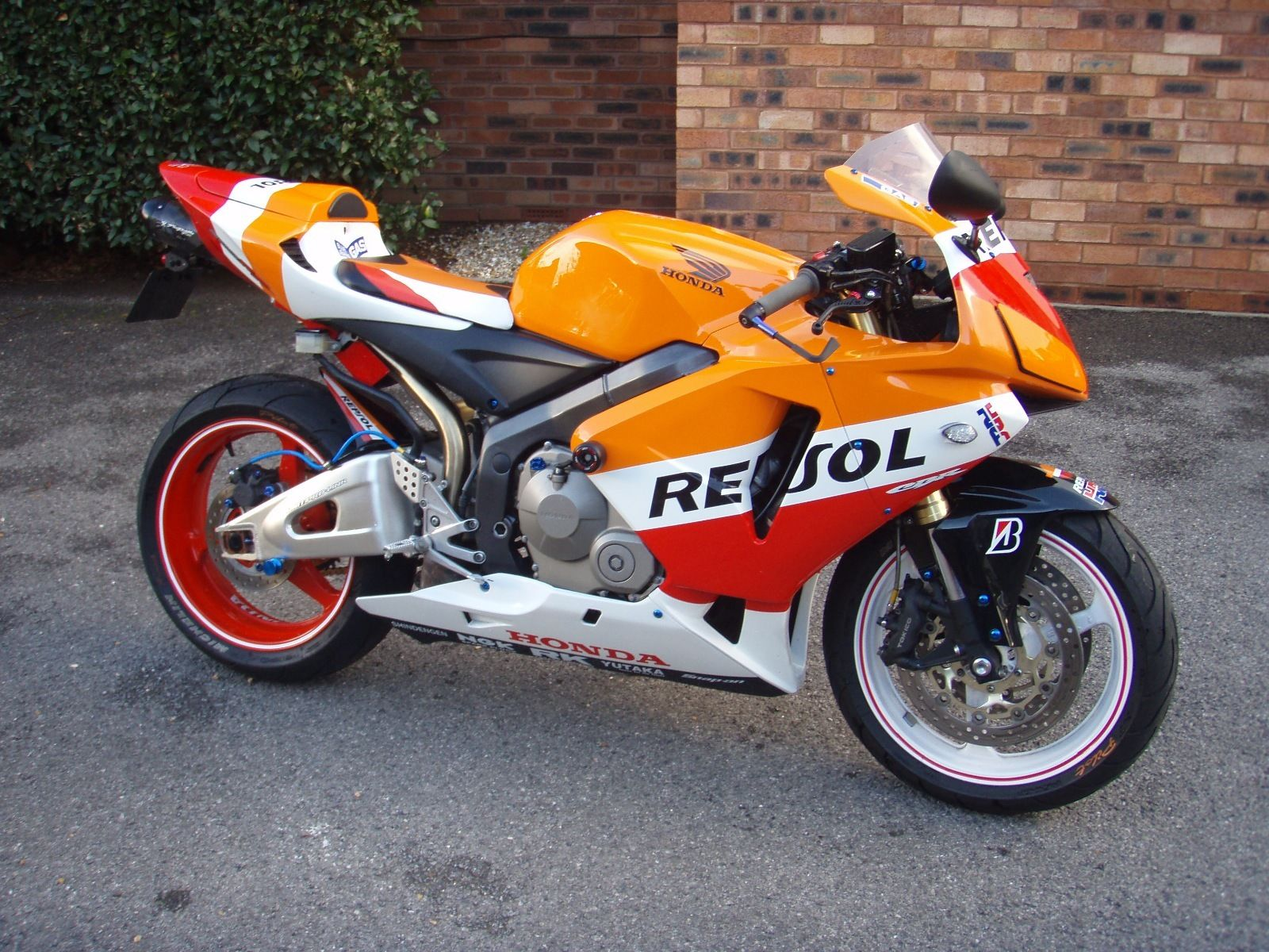 2005 honda cbr 600 rr 5 repsol replica. Black Bedroom Furniture Sets. Home Design Ideas