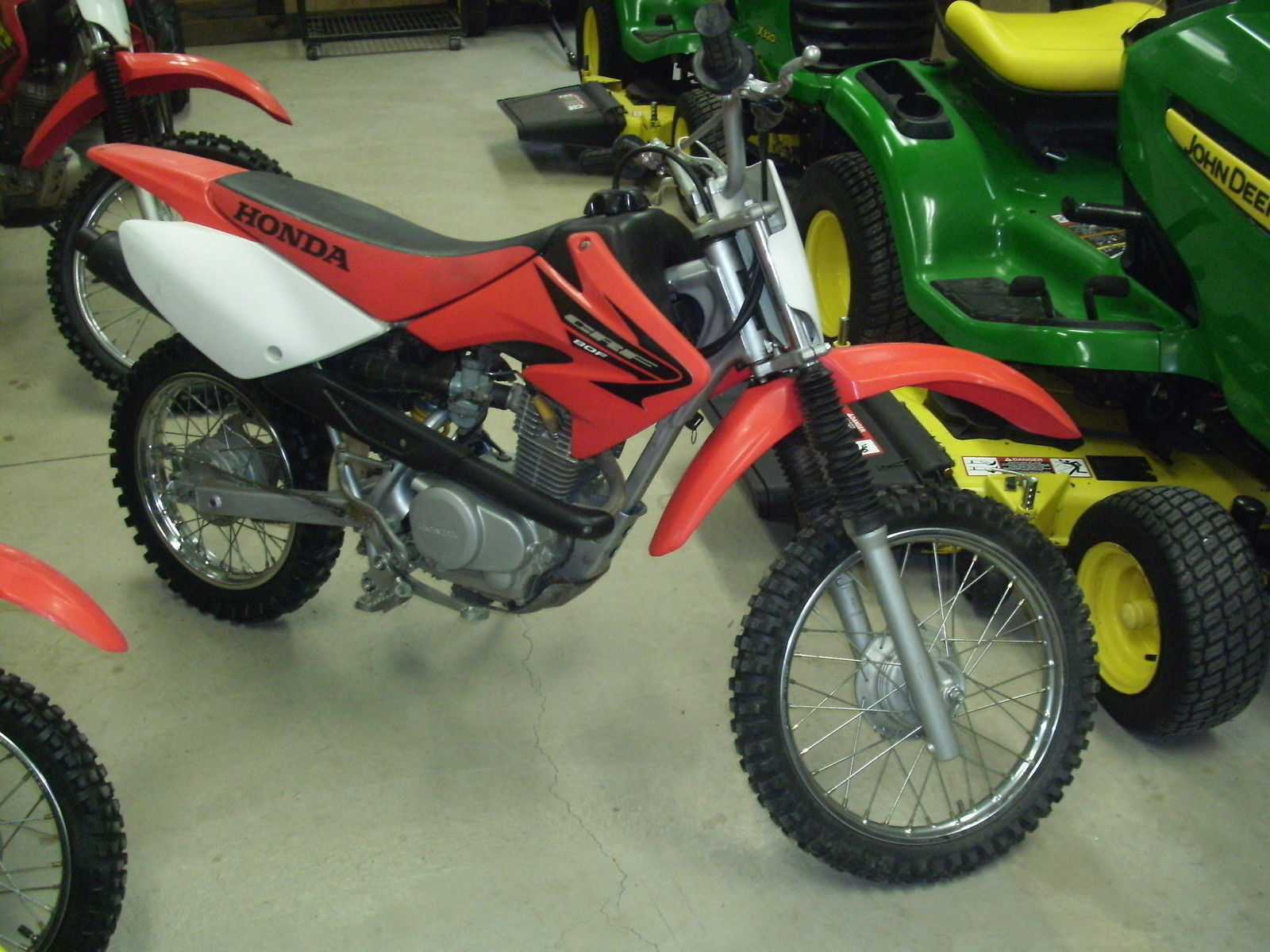 honda crf cc kids dirt bike  nice machine