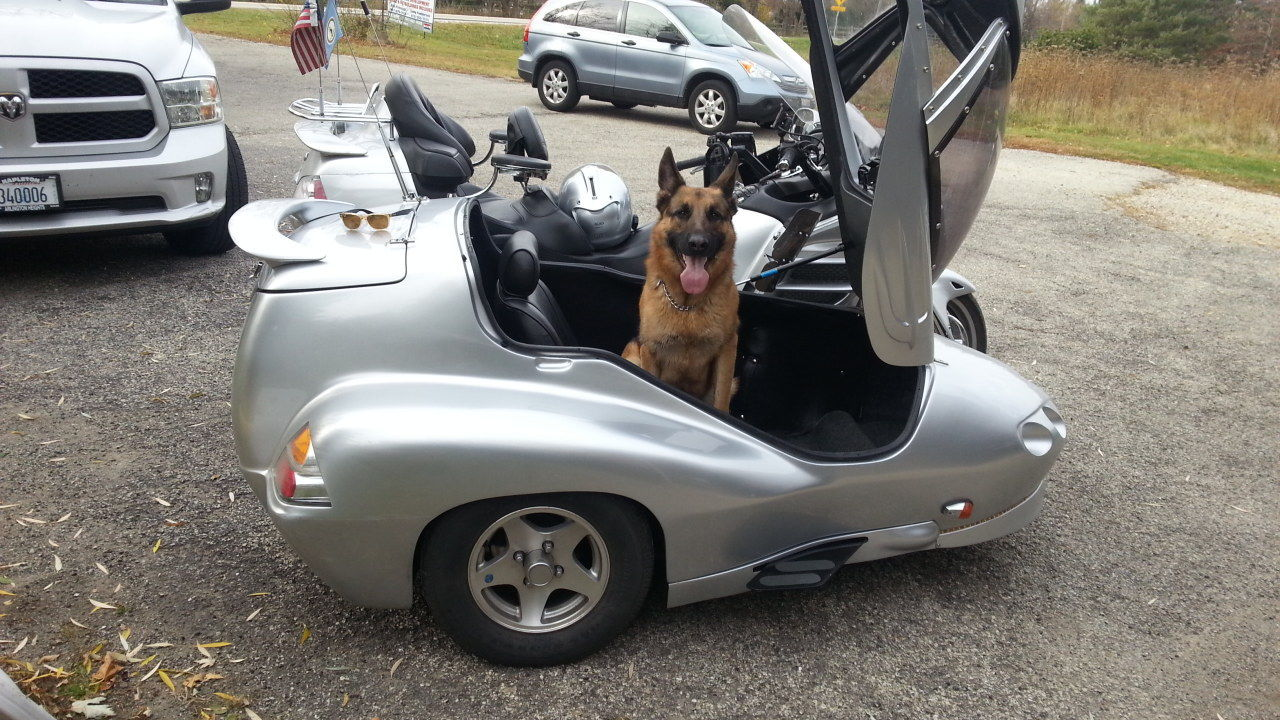 2005 Honda Goldwing 1800abs W Hannigan Astro Sidecar