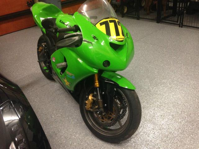 2005 Kawasaki Zx6 R 636 Race Bike Street Legal Fresh Tune Up
